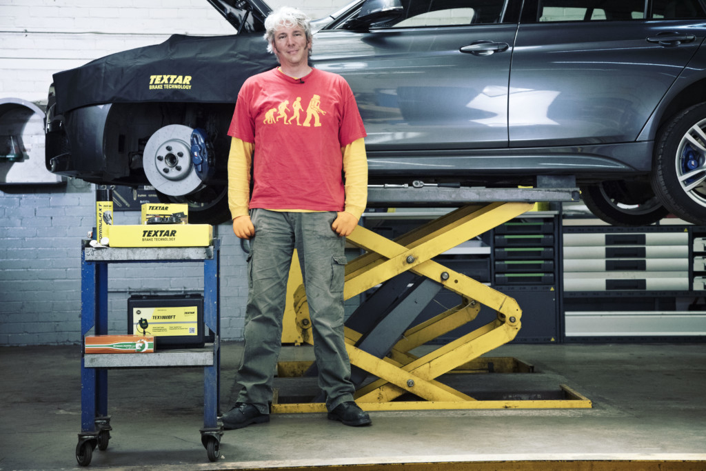TMD Friction steps up a gear with Edd China to produce best